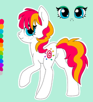 Sunshine Splash OC Updated by BananaSplitzel