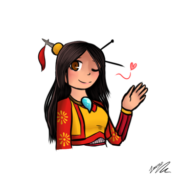 SMITE: Ammy!! by TheCoconutTurtle