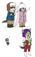 Totems: Cold Nation Sketches by dire-musaera