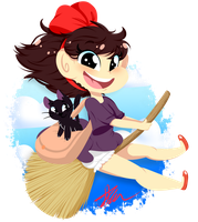 Kiki's Delivery Service by JessiiRoo