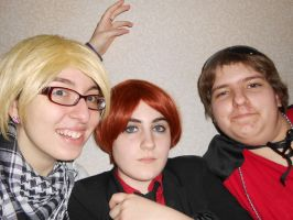 Anime-ZAP! 2013: SpaMano + England by Missywoot1124