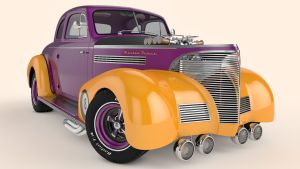 1939 Chevrolet Master Deluxe Coupe by SamCurry