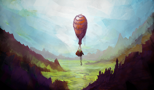Glorious Ballon Journey by aperson4321