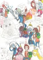 Future Adventure Time Doodles Page 2 by MissBillyF