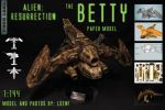 BETTY, Alien:Resurrection papercraft by Vger1981