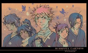 Bleach - Butterfly Catchers by kunika