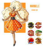 Fakemon: Daycare lady Maribelle by MTC-Studio
