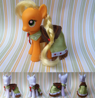 AppleJack's Grand Galloping Gala Dress by CuteTherapy