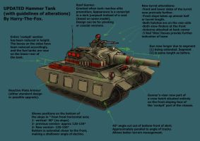 RA2 Mod- Updated Hammer Tank by Harry-the-Fox