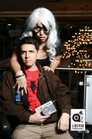 Felicia Hardy And Peter Parker by LoevidProducciones