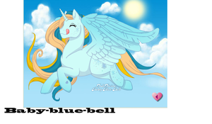 Baby Blue Bell by nazo677