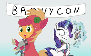 BronyCon - Summer 2012 Ask AJ/Rarity by aoshistark