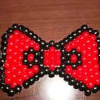 Big Peyote Kandi Hello Kitty Bow by Moldycookiez