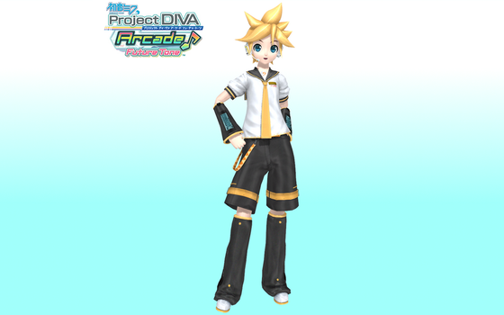 Project Diva Arcade Future Tone Default Len Update by Luke-Flame