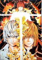 Near, Mello and Kira - Death Note by JeanCarlo183