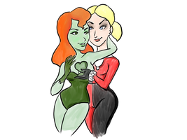 Poison Ivy: Heart Throbbing Help by pixie-the-gator