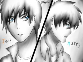 My Main Characters From (Dreams) by xXKevSkyDrawsXx
