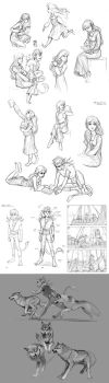 MORE peter pan concept sketches by Detkef