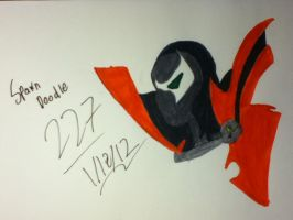 Spawn Doodle by BrandiSwick227
