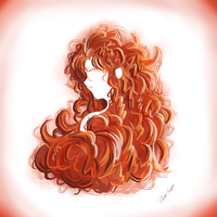 Merida Orange by Pinkshisno