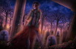 The Last Zombie (Time-lapse in Description!) by Maxxie-Delu