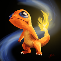 Weird Charmander Sketch of Weirdness by ComicMasterX