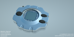 Metallic Digivice by ChibiYugi