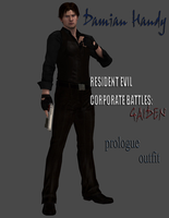 Damian Handy Gaiden Prologue (Formal Attire) by DamianHandy