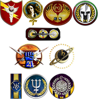 Solar Emblems by 1Wyrmshadow1