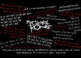 My Chemical Romance Wallpaper by artgirl7777