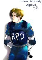 Leon from Re2 by bjaberi