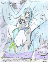 -Pisces and Child. 2, ColorV. by Leeleechanlee