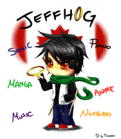 Trade: Jeffhog DevID by talespirit