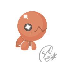 Trapinch - PKMN Collab Example by SteveKdA