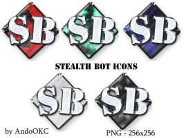 StealthBot Icons by AndoOKC