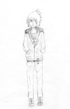 Sketch of Soul Eater street style by nobodyrehara