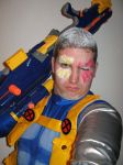 Cable Cosplay Preview 2 by Mastershambler