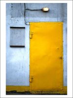 yellow door by incolorwetrust