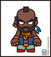 Mr T by JumpingMonkey