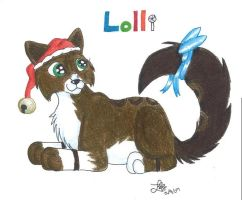 x-mas gift for Lolli by BlueLumi
