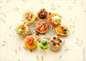 Bracelet Fruit Desserts by allim-lip