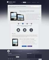 Dublin iPad Apps product demo page - cssauthor.com by cssauthor