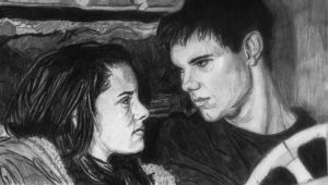 Bella and Jacob by RoxyLexi