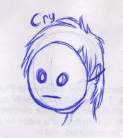 Cry Sketch by mashaheart