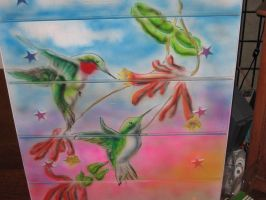 Hummingbird Chest-of-drawers by Decarabia69