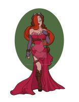 Steampunk Jessica Rabbit by khallion