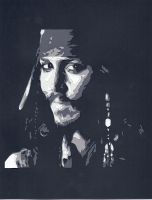Captain Jack Sparrow by wandering-pen