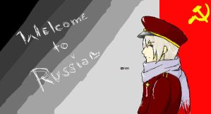 Welcome to Russia by EisernerVorhang