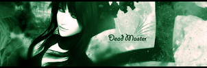 Dead Master Signature by priboy17