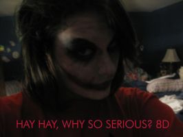 .:Why So Serious -Test Run-.: by SpookytheKitsune